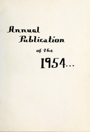 Page 5, 1954 Edition, Nashville High School - Nahiscoan Yearbook (Nashville, NC) online yearbook collection