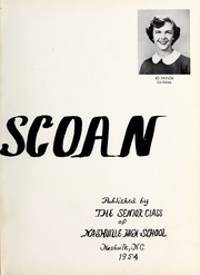 Page 7, 1954 Edition, Nashville High School - Nahiscoan Yearbook (Nashville, NC) online yearbook collection