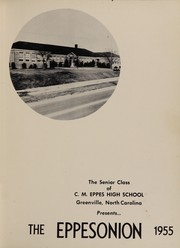 Page 5, 1955 Edition, C M Eppes High School - Eppesonian Yearbook (Greenville, NC) online yearbook collection