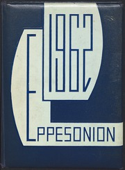 1962 Edition, C M Eppes High School - Eppesonian Yearbook (Greenville, NC)