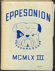1963 Edition, C M Eppes High School - Eppesonian Yearbook (Greenville, NC)
