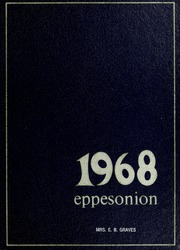 1968 Edition, C M Eppes High School - Eppesonian Yearbook (Greenville, NC)