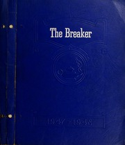 Central High School - Breaker Yearbook (Elizabeth City, NC) online yearbook collection, 1948 Edition, Page 1