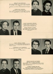 Page 13, 1956 Edition, Central High School - Breaker Yearbook (Elizabeth City, NC) online yearbook collection