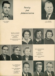 Page 8, 1956 Edition, Central High School - Breaker Yearbook (Elizabeth City, NC) online yearbook collection
