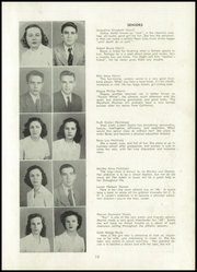 Page 17, 1948 Edition, Cool Springs High School - Forester Yearbook (Forest City, NC) online yearbook collection