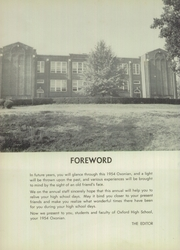 Page 6, 1954 Edition, Oxford High School - Oxonian Yearbook (Oxford, NC) online yearbook collection