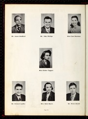 Page 10, 1950 Edition, Ellerbe High School - Odyssey Yearbook (Ellerbe, NC) online yearbook collection