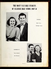 Page 11, 1950 Edition, Ellerbe High School - Odyssey Yearbook (Ellerbe, NC) online yearbook collection