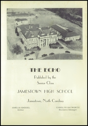 Page 9, 1950 Edition, Jamestown High School - Echo Yearbook (Jamestown, NC) online yearbook collection