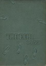 1953 Edition, Jamestown High School - Echo Yearbook (Jamestown, NC)