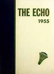 1955 Edition, Jamestown High School - Echo Yearbook (Jamestown, NC)
