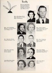 Page 11, 1951 Edition, Yadkinville High School - Yadkinian Yearbook (Yadkinville, NC) online yearbook collection