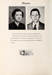 Page 8, 1951 Edition, Yadkinville High School - Yadkinian Yearbook (Yadkinville, NC) online yearbook collection