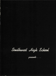 Page 7, 1960 Edition, Southwest High School - Iliad Yearbook (Clemmons, NC) online yearbook collection