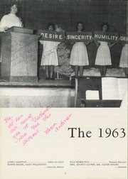 Page 6, 1963 Edition, Southwest High School - Iliad Yearbook (Clemmons, NC) online yearbook collection