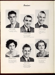 Page 14, 1951 Edition, Four Oaks High School - Acorn Yearbook (Four Oaks, NC) online yearbook collection