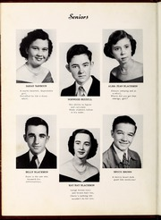 Page 16, 1951 Edition, Four Oaks High School - Acorn Yearbook (Four Oaks, NC) online yearbook collection