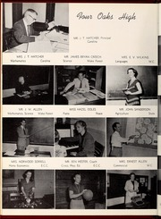 Page 14, 1954 Edition, Four Oaks High School - Acorn Yearbook (Four Oaks, NC) online yearbook collection