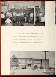 Page 6, 1954 Edition, Four Oaks High School - Acorn Yearbook (Four Oaks, NC) online yearbook collection