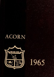 1965 Edition, Four Oaks High School - Acorn Yearbook (Four Oaks, NC)