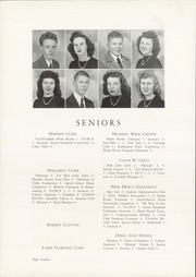 Page 16, 1946 Edition, Cannon High School - Cannon Report Yearbook (Kannapolis, NC) online yearbook collection