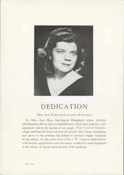 Page 6, 1946 Edition, Cannon High School - Cannon Report Yearbook (Kannapolis, NC) online yearbook collection