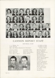 Page 8, 1946 Edition, Cannon High School - Cannon Report Yearbook (Kannapolis, NC) online yearbook collection