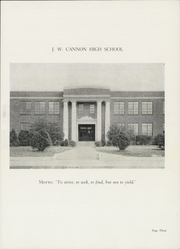 Page 5, 1947 Edition, Cannon High School - Cannon Report Yearbook (Kannapolis, NC) online yearbook collection