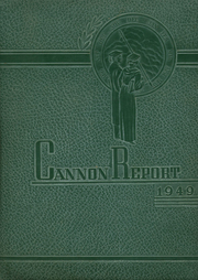 Page 1, 1949 Edition, Cannon High School - Cannon Report Yearbook (Kannapolis, NC) online yearbook collection
