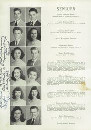 Page 16, 1949 Edition, Cannon High School - Cannon Report Yearbook (Kannapolis, NC) online yearbook collection