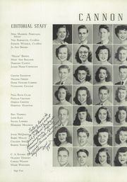 Page 8, 1949 Edition, Cannon High School - Cannon Report Yearbook (Kannapolis, NC) online yearbook collection