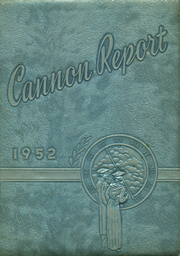Page 1, 1952 Edition, Cannon High School - Cannon Report Yearbook (Kannapolis, NC) online yearbook collection