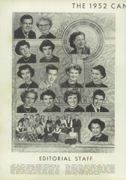 Page 10, 1952 Edition, Cannon High School - Cannon Report Yearbook (Kannapolis, NC) online yearbook collection