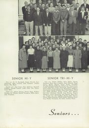 Page 13, 1952 Edition, Cannon High School - Cannon Report Yearbook (Kannapolis, NC) online yearbook collection