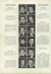 Page 16, 1952 Edition, Cannon High School - Cannon Report Yearbook (Kannapolis, NC) online yearbook collection
