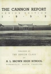 Page 5, 1952 Edition, Cannon High School - Cannon Report Yearbook (Kannapolis, NC) online yearbook collection