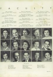 Page 9, 1952 Edition, Cannon High School - Cannon Report Yearbook (Kannapolis, NC) online yearbook collection