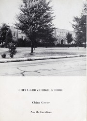 Page 5, 1951 Edition, China Grove High School - Parrot Yearbook (China Grove, NC) online yearbook collection