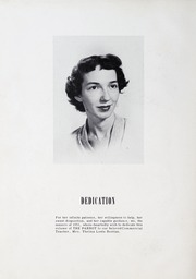 Page 6, 1951 Edition, China Grove High School - Parrot Yearbook (China Grove, NC) online yearbook collection