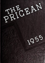 Page 1, 1955 Edition, Price High School - Pricean Yearbook (Salisbury, NC) online yearbook collection
