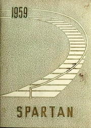 1959 Edition, Sparta High School - Spartan Yearbook (Sparta, NC)