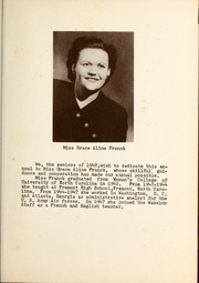 Page 9, 1948 Edition, Wakelon High School - Wak Igh An Yearbook (Zebulon, NC) online yearbook collection