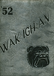 Page 1, 1952 Edition, Wakelon High School - Wak Igh An Yearbook (Zebulon, NC) online yearbook collection