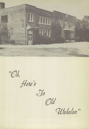 Page 11, 1952 Edition, Wakelon High School - Wak Igh An Yearbook (Zebulon, NC) online yearbook collection