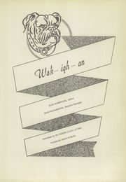 Page 7, 1952 Edition, Wakelon High School - Wak Igh An Yearbook (Zebulon, NC) online yearbook collection