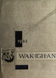 Page 1, 1963 Edition, Wakelon High School - Wak Igh An Yearbook (Zebulon, NC) online yearbook collection
