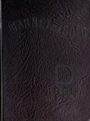 1956 Edition, Rankin High School - Garnet and Gold Yearbook (Greensboro, NC)
