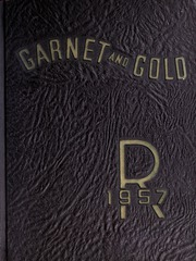 1957 Edition, Rankin High School - Garnet and Gold Yearbook (Greensboro, NC)