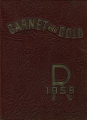 1959 Edition, Rankin High School - Garnet and Gold Yearbook (Greensboro, NC)